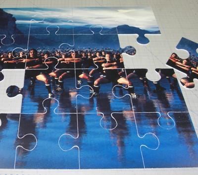 conception et impression de puzzle sur pvc calandré